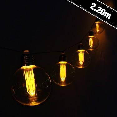 Large Vintage Bulb String Lights