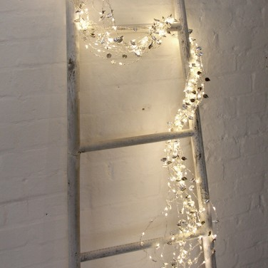 Silver Sway LED Light Chain