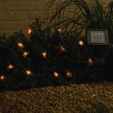 Solar Powered Bee String Lights