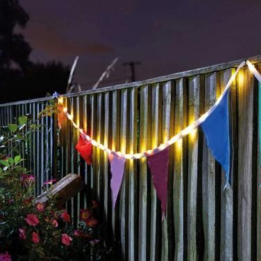 Solar Bunting String Lights