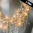 Battery Operated Baroque Pearl String Lights