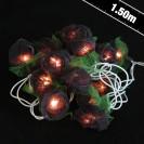 Black Rose String Lights
