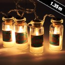 Christmas Mini Jar String Lights