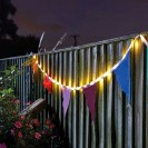 Solar Bunting String Lights