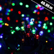 1000 LED Solar Stringlights Multicolour