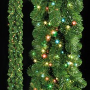 180 LED Garland Light B/O