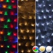 360 LED Net Chaser Lights
