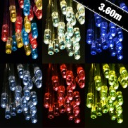 35 Battery Operated Static & Flash LED Lights