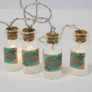 Christmas Mini Jar Fairy Lights
