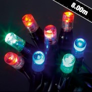 100 LED Connector String Lights Multi-colour
